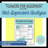 """Flowers for Algernon"" Text-Dependent Analysis Differentia"