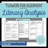 """Flowers for Algernon"" Short Story Literary Analysis Graph"