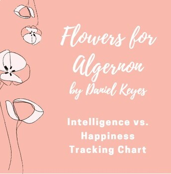 Flowers for Algernon Intelligence vs. Happiness Tracking Chart