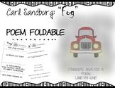 """Fog"" by Carl Sandburg Poem Analysis: Line-by-line booklet"