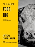 """""""Food, Inc."""" Film Guide: Viewing for Understanding and Critical Questions"""