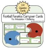 {Football Fanatics} Conversation Starters For Articulation & Stuttering
