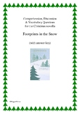 'Footprints in the Snow' (2) A Christmas Reading Comprehension
