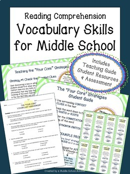 Vocabulary Strategies for Middle School | Critical Thinking in ELA