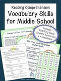 Middle School Reading Comprehension Strategies   Vocabulary Strategies