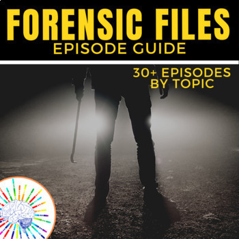'Forensic Files' Video Guide - 26 Forensic Files Listed by Topic!