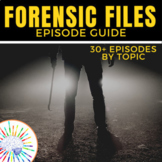 'Forensic Files' Video Guide - 30+ Forensic Files Listed b