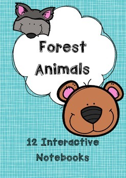 { Forest Animal } Interactive Notebooks