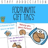 'Fortunate' Fortune Cookie Staff Appreciation Gift Tags