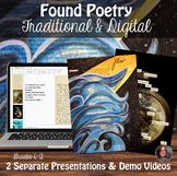 *Found / Blackout Poetry & Digital Found Poetry-High School Art & ELA
