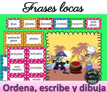 Frases Locas Lee Ordena Y Dibuja Frases Disparatadas Español