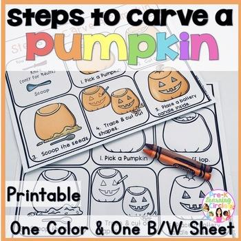 (Free)Steps to Carve a Pumpkin