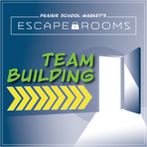 NO PREP Team Building Escape Room - Classroom Community - Back to School