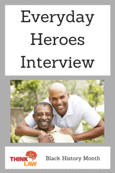 *Free* Black History Month Interview Lesson: Everyday Heroes