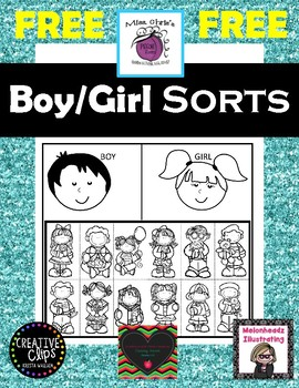 **Free**  Boy/Girl Sorts (Small and Large)