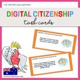 {Free} Digital Citizenship Task Cards
