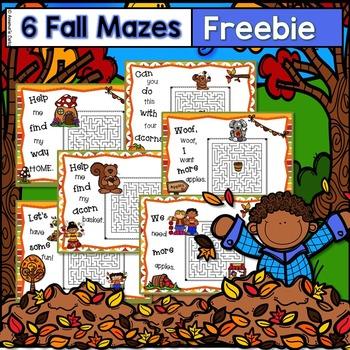 ~Free~ Fall Mazes