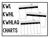 *Free* KWL, KWHL, and KWHLAQ Charts