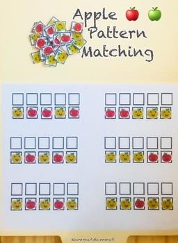 *Free!* Mini Apples Erasers Pattern Matching