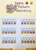 Mini Apple Erasers | Pattern Matching | Tot School Activit