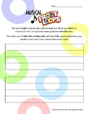 *Free* Musical Froot Loops - Music Note Identification Activity