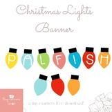 ***Free Palfish Christmas Lights Banner**