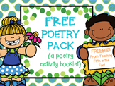 {Free!} Poetry Pack Writing Booklet