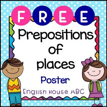 [Free!] Prepositions of Places - Poster