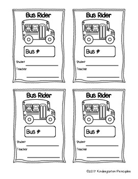 Printable Dismissal Tags