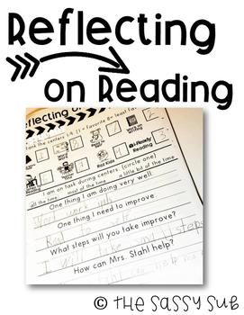 *Free* Reading Reflection Sheet