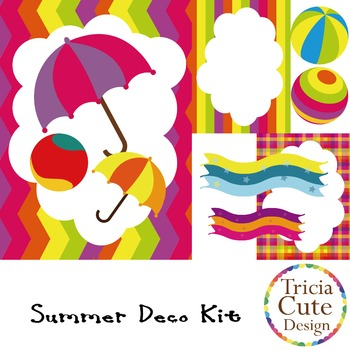 [Free] Summer Deco Kit