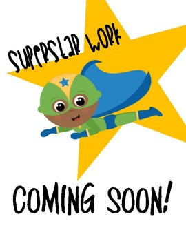 *Free* Superstar Work COMING SOON // Temporary Place Holder