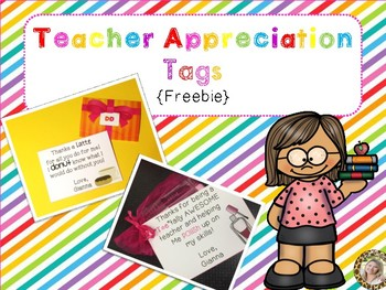 {Free} Teacher Appreciation Tags