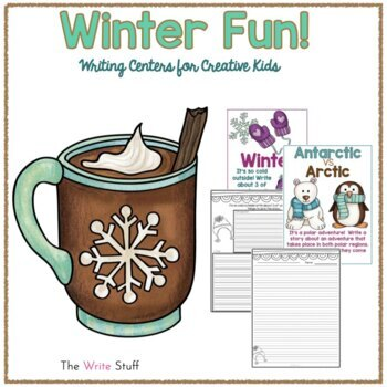 Winter Writing Centers {FREE}
