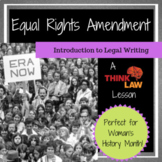 Woman's History Month: Equal Rights Amendment?