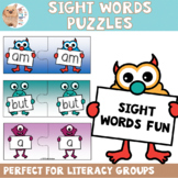 1 - 100 Oxford Sight Words Puzzles - Monster Theme