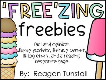 """Free""zing Freebie Fact and Opinion"