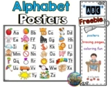 ❤️Freebie  -Alphabet Posters - Tracing Letters Pages