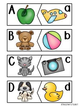 {Freebie} Alphabet Puzzles