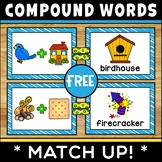 Compound Words Match Up FREE