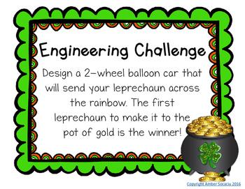 {Freebie} Balloon Car STEM Challenge
