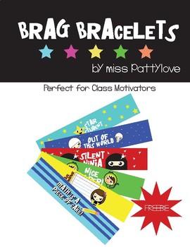 **Freebie!** Brag Bracelets!* MUST HAVE!