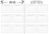 *Freebie* BuJo Preview Yearly Planner Page (Bullet Journal)