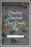 *Freebie* Counting Raindrops Play Dough Mat