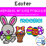 {Freebie!} Easter Alphabet Writing Practice - Pre-K, Preschool, and Kindergarten