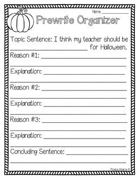 {Freebie} Halloween - I Think My Teacher Should Be….
