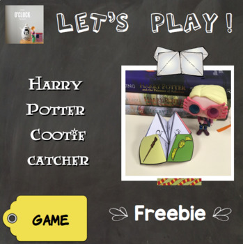 {Freebie} Harry Potter Cootie Catcher