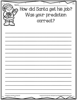 {Freebie} How Santa Got His Job Writing Prompts