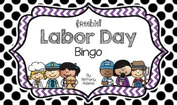 *Freebie* Labor Day Bingo ~*Low Prep*~