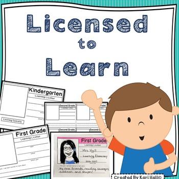 {Freebie} Learning License Grades K-3